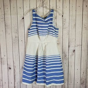 Taylor Ombre Striped Dress Size 10